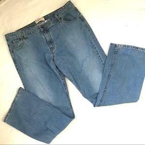Levi's Low Rise Boot Cut Jeans Size Misses 18